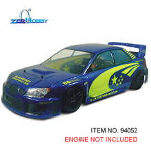 HSP RACING RC CAR TOYS ITEM NO. 94052 WITHOUT ENGINE 1/5 SCALE 4WD GAS POWER UNIVERSAL ON ROAD BLUE ROCKET WORLD RALLY RACING(China)