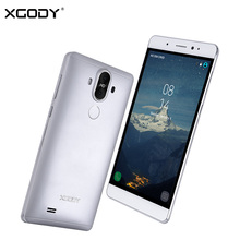XGODY Y22 3G Unlocked Smartphone 6 Inch Android 5.1 MTK6580 Quad Core 1+16G GPS WiFi 2400mAh Mobile Cell Phone 2 Back Cameras(China)
