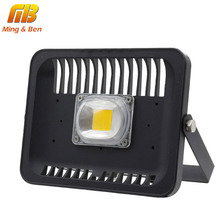[MingBen] LED Flood Light 30W 50W 100W 220V-240V IP65 Waterproof LED Flood Light Square Spotlight Outdoor Wall Garden Projector(China)