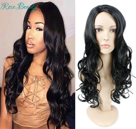40%off long body wave synthetic wigs for black women middle part afro wig harajuku cosplay wig wavy Perucas cheap anime hair wig<br><br>Aliexpress