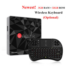 Beelink GT1 Ultimate TV Box Amlogic S912 Octa Core Android 6.0 Media Player 3G RAM DDR4 32G 5G WIFI Bluetooth 4.0 Set Top Box