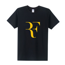 2016 New Roger Federer T Shirt RF T-shirt Short Sleeve  RF T Shirts Cotton  Shirt Tops Free Shipping OT-018