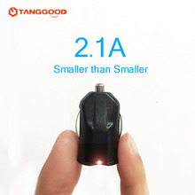Dual USB Car Charger Super Mini Cigarette lighter 2 ports Travel Adapter 5V 2.1A Car-charger for iPhone 7 Xiaomi Samsung lg g5