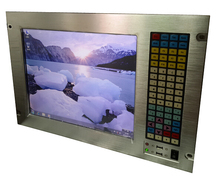 "19"" 7U Rack Mount Embedded workstation, 15"" LCD with 5-wire touchscreen, 1037U CPU, 2GB RAM, 320GB HDD, 5*COM, 6*USB"