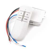 Wireless 2 Ways ON/OFF 220V Light Remote Control Switch Receiver Transmitter YB005-SZ+-