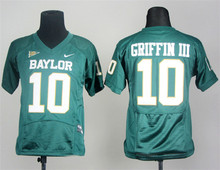Nike Baylor Bears Robert Giffin III 10 White Pro Combat College Boxing Jersey(China)