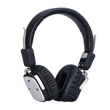 Resizable and Foldable PU Leather Bluetooth V4.1 Headphone with 3.5mm Line Cable Noise Isolation Auriculares Wireless Headset