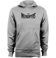 THE HELLACOPTERS Band logo Mens & Womens Comfortable Hoodies Custom Sweatshirts(China)