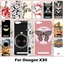 TAOYUNXI Mobile Phone Cases for Doogee X30 5.5inch Cover Case Soft TPU Silicon Lovely Animal DIY Painted Bag Skin Shell(China)