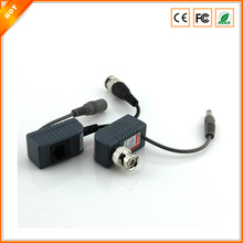Free Shipping CCTV RJ45 UTP Video Balun Transceiver, with Video and Power