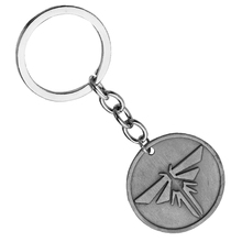 Fashion Keychain The Legend of Zelda Key Ring Chain Unique Silver Anime Keyfob Keyring Key Holder Wholesale suppliers china(China)