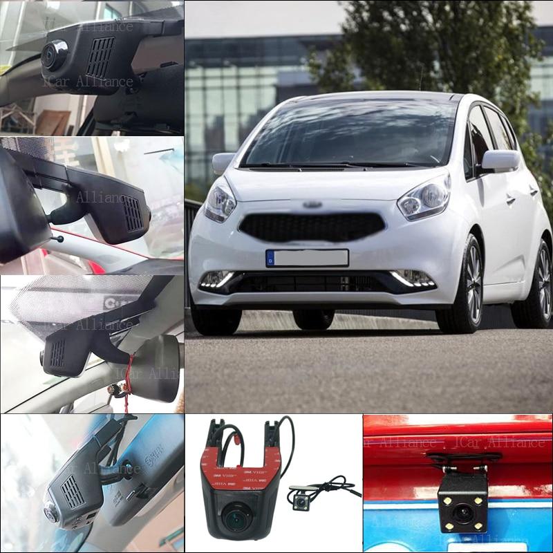 For kia venga Car Parking Camera APP control Car Wifi DVR FHD 1080P WDR Dual Cameras Car Black Box night vision camcorder<br><br>Aliexpress