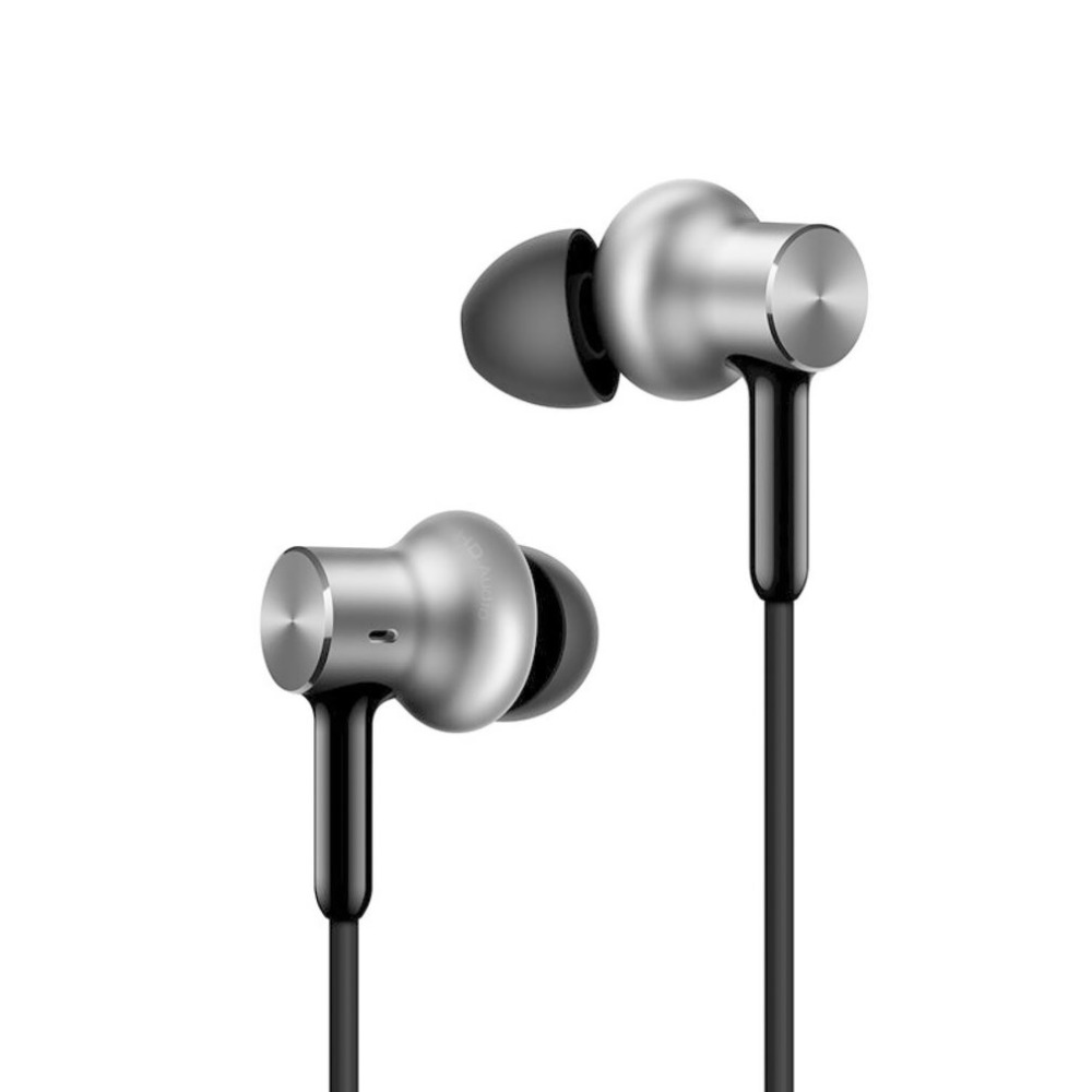 Xiaomi Mi In-Ear Headphone Pro HD Stereo Comfortable Headset Dual Dynamic Drivers Built-In Mic 98dB Line Control<br>