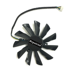 POWER LOGIC 95mm 4 Pin PLD10010S12HH Graphics Card Fan Cooler For Radeon MSI GTX 770 760 R9 280X 290X as Replacement(China)