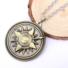 HSIC JEWELRY Game of Thrones Song of Ice and Fire House Nymeros Martell Round Pendant Necklace for Fans HC10790