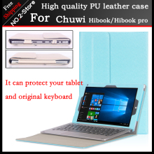 Original High-quality Business Folio stand keyboard case For CHUWI HiBook Pro / HiBook /Hi10 Pro 10.1 inch Tablet PC(China)