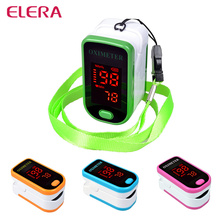 2016 New!! SH-K4 Pulse Oximeter Oximetro de pulso de dedo LED Display Saturometro Pulsioximetro 4 Color Free Shipping(China)