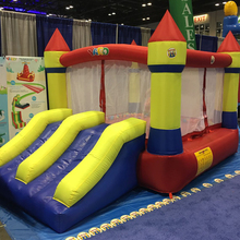 YARD Home Use Mini Inflatable Bouncers Kids Bouncy Castle Outdoor Inflatable Bounce House Sent PE Ocean Balls(China)