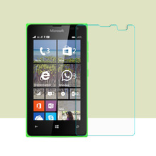 2PCS Tempered Glass Film For Nokia Microsoft Lumia 435 Film 2.5HD Screen Protection Film For Nokia Lumia 532 glass protector(China)