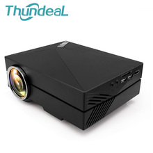 ThundeaL Multi-Screen Mini Projector GM60 UP GM60A 1000Lumens WIFI Wireless Display Phone Video USB VGA SD Home Video Theater