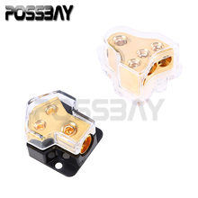 1Pcs Universal Car Power Distributor Block Plastic Copper Fuse Holder Fuse Box 3 Style For Choose Fit Opel Audi BMW Ford