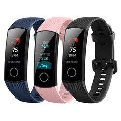 Huawei Honor Band 4 водонепроницаемый умный браслет с 0,95-дюймовым экраном и измерением пульса