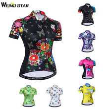 Hot!! Women's Breathable Cycling Jersey Shirt Youth Pro Team Racing Cycling Clothing Quick Dry MTB Bike Jersey Maillot Ciclismo