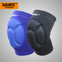 1 Piece Football Volleyball Extreme Sports Knee Pad Eblow Brace Support Thickening Knee pad Lap Protect Cycling Knee Protector(China)