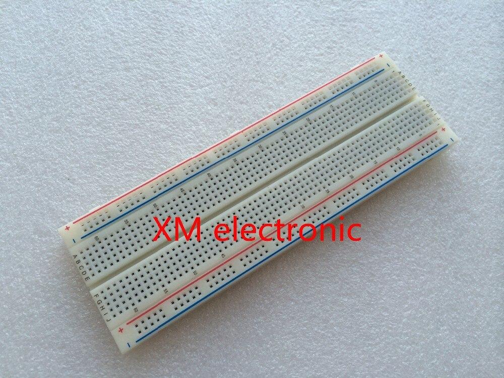 NEW MB-102 MB102 Breadboard 830Point Solderless PCB Bread Board Test Develop DIY FREE SHIPPING 10PCS 3
