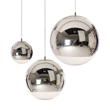 Wonderland Modern Classic Electroplate Famous Design Silver Glass Mirror Durface Star Ball for Palor Home Bar New Hot PL-56