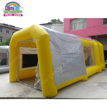 2 Air Blowers Outdoor Portable Paint Booths Inflatable Spray Booth,Used Spray Booth Car Tent For Sale