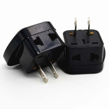 Hight Quality Power Adapter Travel Adaptor 2 pin USA Converter to AU UK EU to Universal US Plug Charger For Canada Brazil Mexico