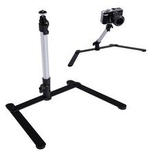 Adjustable Camera Tripod Table Top Stand Mini Monopod Aluminum Alloy 1/4 screw Support for DSLR Digital Camera Camcorder