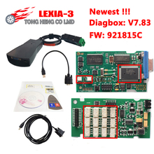 2017 Newest V7.83 with 921815C Firmware Lexia3 PP2000 V48/V25 Lexia 3 Diagbox 7.83 for Citroen for Peugeot Lexia-3(China)