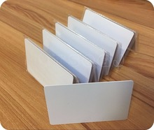 Hot sale 50pcs/lot writable rewrite blank white 125KHZ T5557 / T5567 / T5577 PVC Chip Smart Hotel Card,rfid hotel key card