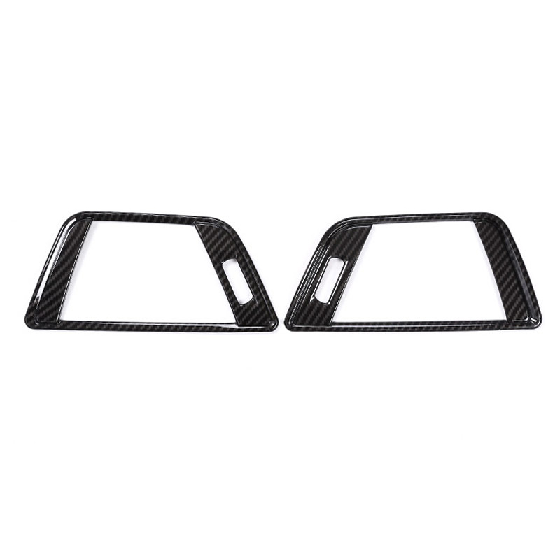 16PCS Carbon Fiber Interior Air Conditioning Vent Trim For BMW F30 F34 2013-2017