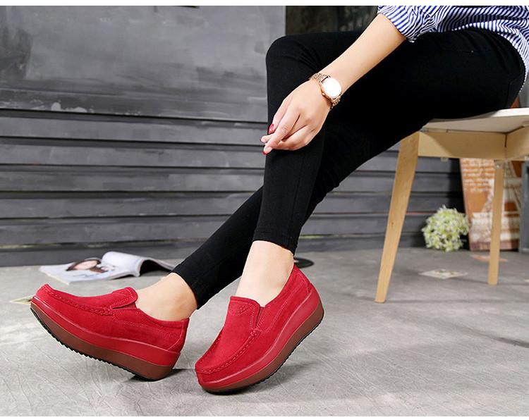 HX 3213 (11) Autumn Platforms Women Shoes