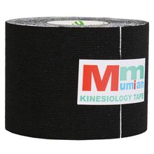 Mumian 5 cm x 3 m Intramuscular effect Tex Tapes Tape Athletic Strapping Intramuscular effect Tape with Case black(China)
