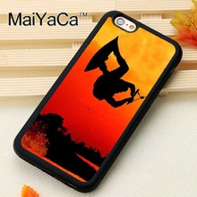 MaiYaCa Wakeboard At Sunset New Phone Case For iphone 6 6s Fundas case For iphone 6 6s Coque Fitted Case Back Cover(China)