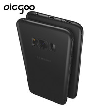 Oicgoo Soft Thin TPU Back Full Cover Case For Samsung Galaxy S8 S8 Plus Slim Case For Samsung Galaxy S7 S7 Edge Protective Cases