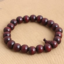 10mm sandalwood rosary wooden bead bracelet handmade men's wood beads bracelet bangle jewelry with perfume