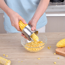 Professional Stainless Steel Fast Corn Stripper Salad Food Maker Kitchen Gadgets Cooking Helpful Tools(China)