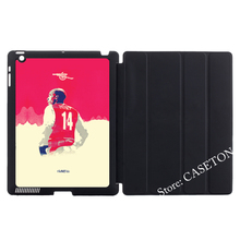 Henry Football Legend Premier Smart Cover Case For Apple iPad Mini 1 2 3 4 Air Pro 9.7(China)