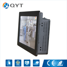 "Industrial Pc Intel N2807 1.6GHz 11.6"" Resolution 1366x768 2LAN/2COM Fanless Design/ High Performance PC with touch screen(China)"