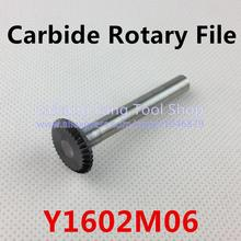 Head 16mm,Dise type of 90 degree,carbide rotary burrs,  deburring with rasp, carbide burrs, carbide grinding.Y1602M06