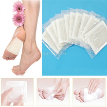 200PCS Detox Foot Patches Pads Body Toxins Feet Slimming Cleansing Herbal Adhesive Detoxify Toxins HTY07(China)