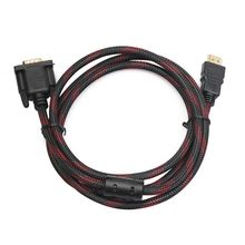 Full HD 1080P HDMI Male to 15 Pin VGA Connector Adapter Converter Cable HDTV Adapter Cable