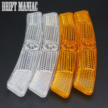 Drift Maniac 1 Pair Bicycle Warning Light MTB Road Bike Cycing Wheel Rim Spoke Reflective Reflector Bicycle Accessories