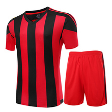 Custom Adult Soccer Uniform Outfit Kids Training Football Jerseys Kit Soccer Tracksuit Jerseys 2016 2017 Football Kit Shirt