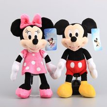 "Original Mickey Minnie Plush Toy Stuffed Animals Children Birthday Gift 13"" 32 CM"